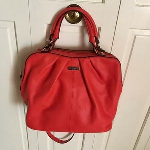 Kate Spade Blood Orange Tangerine Slouch Bag